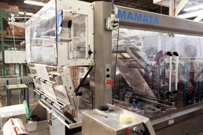 Mamata high-speed form-fill-seal packaging machine