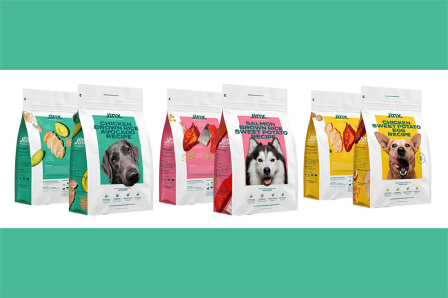 Jinx, a new brand of kibble for dogs, prepares for official launch