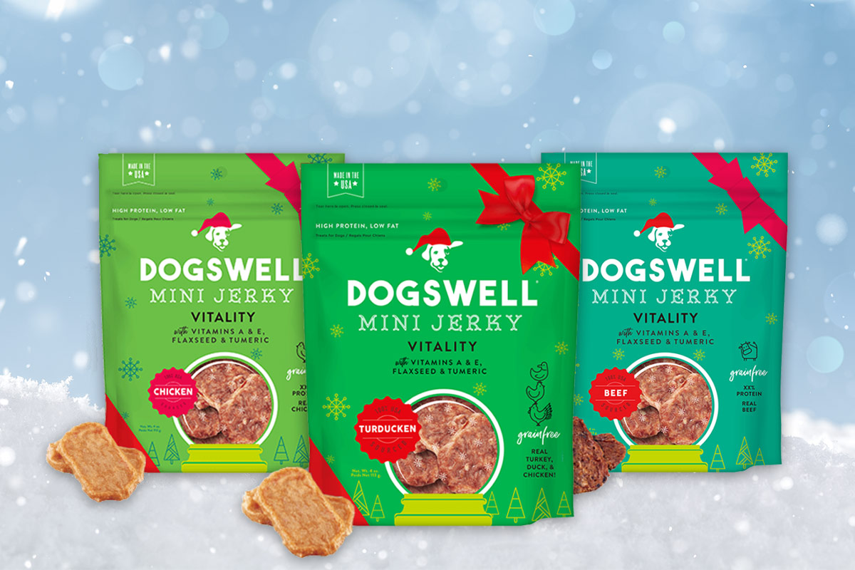 Dogswell releases limited-edition holiday treats for dogs