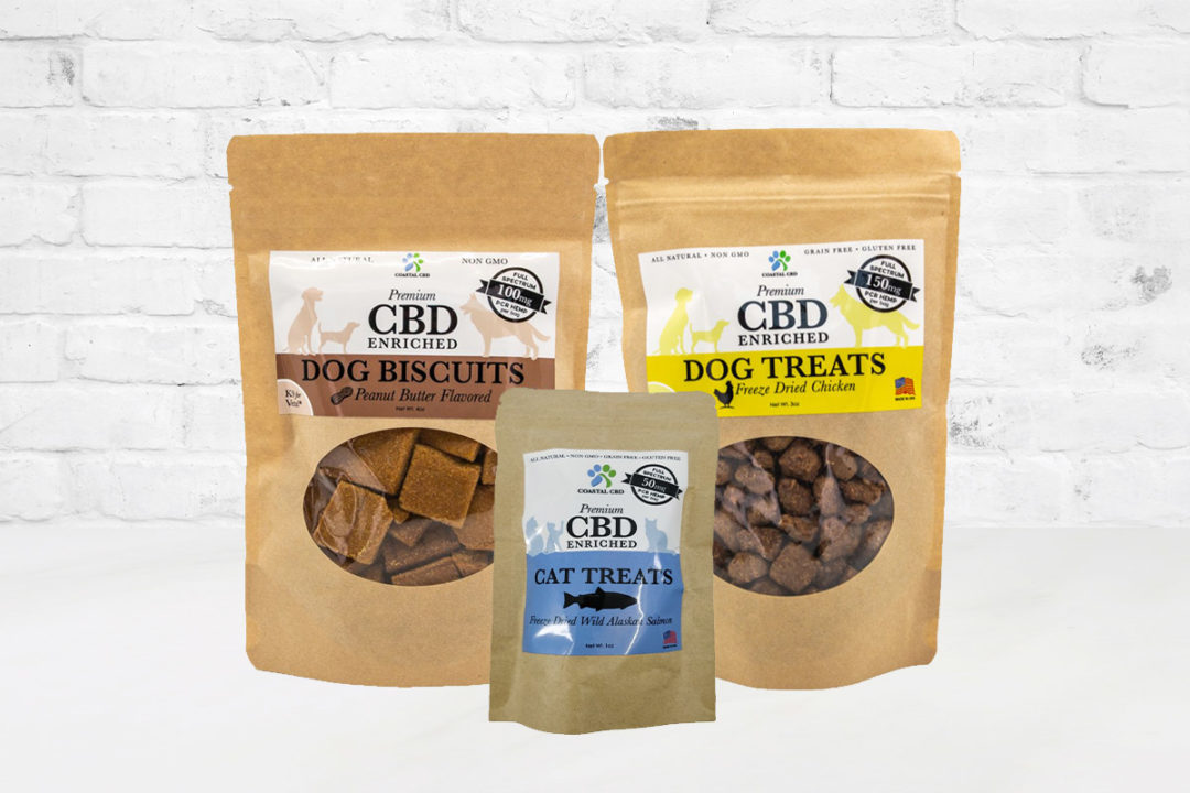 New Coastal adds pet treats and tinctures to CBD product portfolio