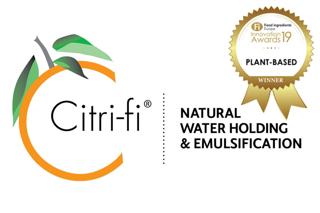 Fiberstar recognized for plant-based meat solution, Citri-Fi