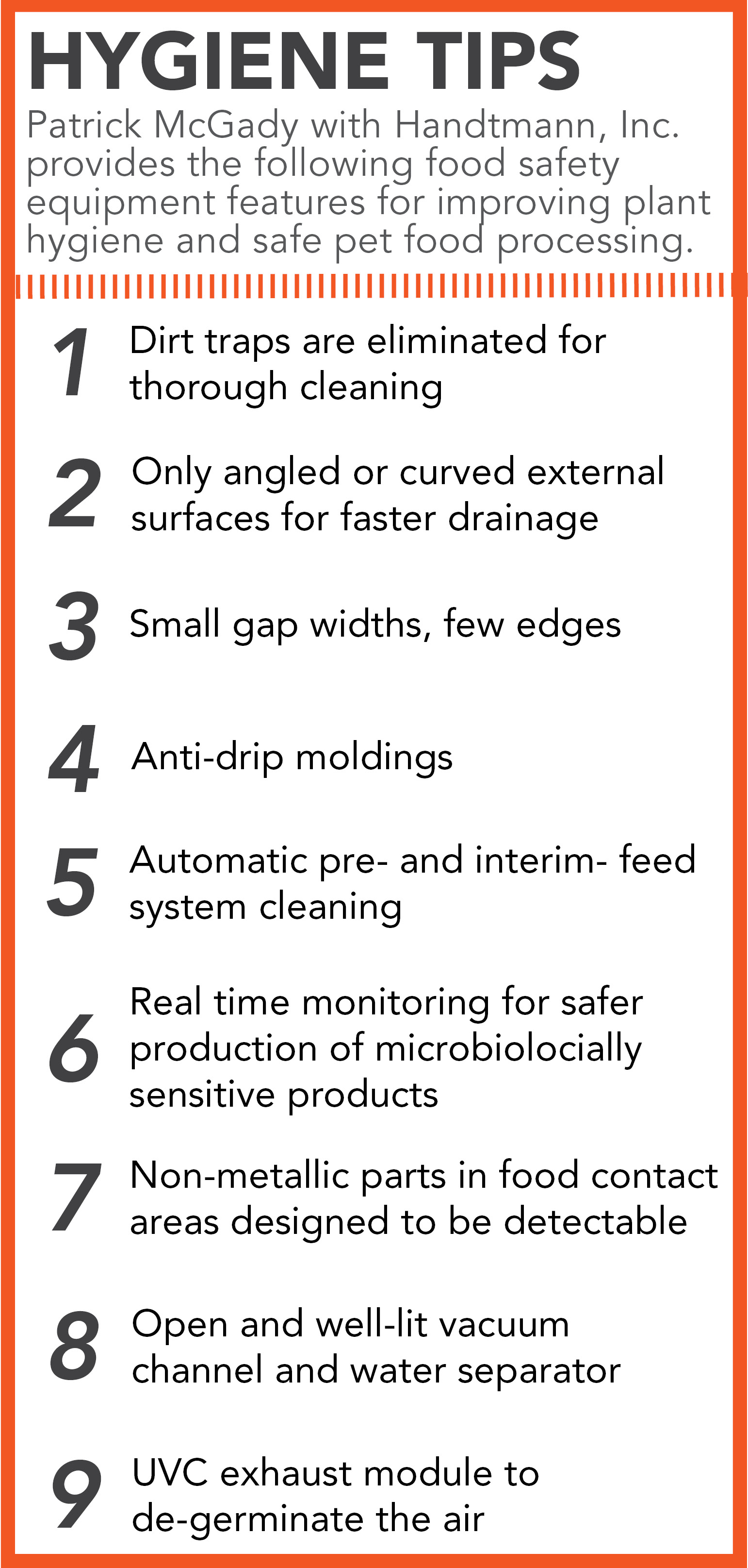 Nine tips to ensure fill-and-seal system hygiene