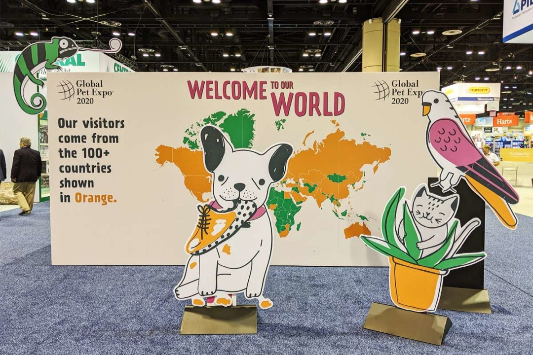 Hot topics, trends and new products on the Global Pet Expo 2020 show floor