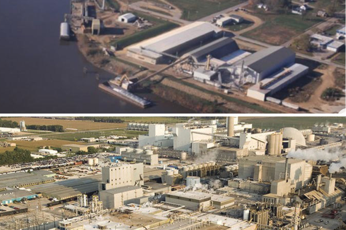 ADM Clinton, Iowa and Decatur, Illinois plants