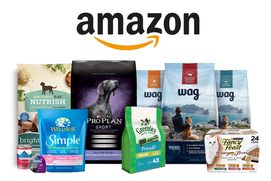 Pet food products sold on Amazon.com