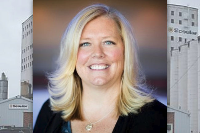 Amy Bailey, new director of brand marketing and corporate communications for Scoular.