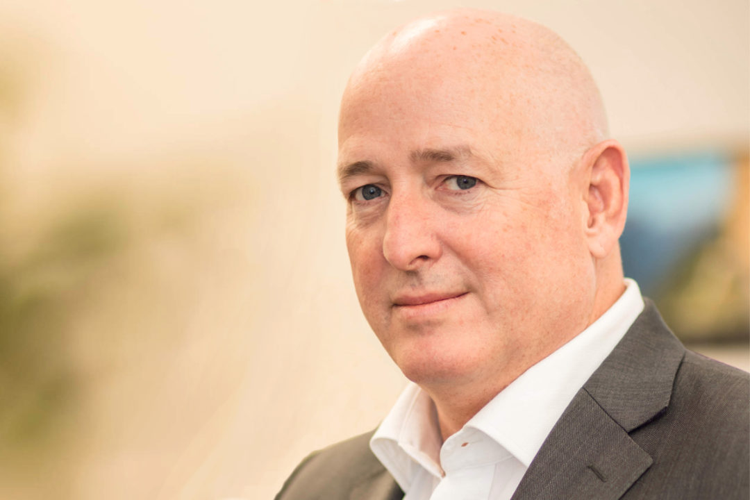 Andy Sharpe, new president and CEO of Bühler, Inc.