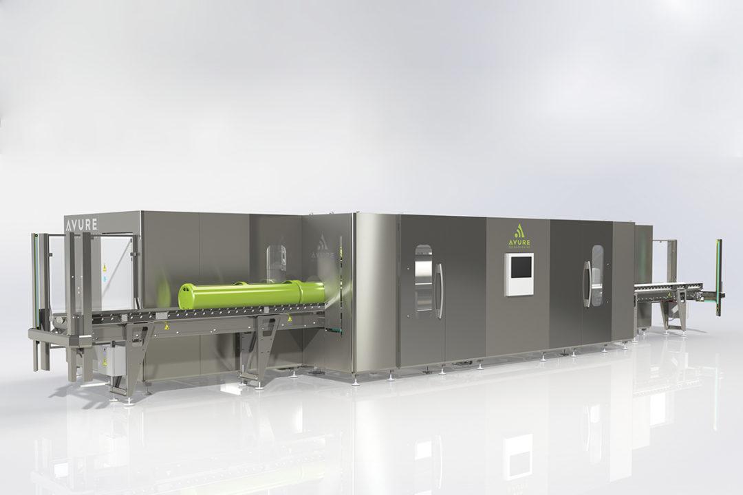 JBT-Avure high-pressure pasteurization system, Avure AV-M