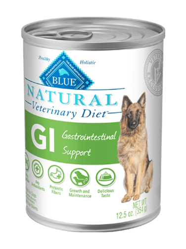 Blue Buffalo Veterinary Diet, Gastrointestinal Support canned food for dogs