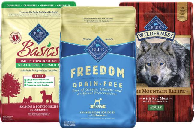Blue Buffalo pet food products