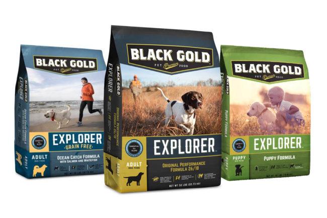 Black Gold premium dog food products