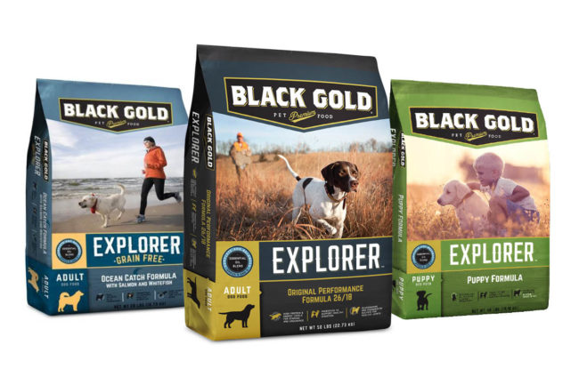 Black Gold premium dog food products