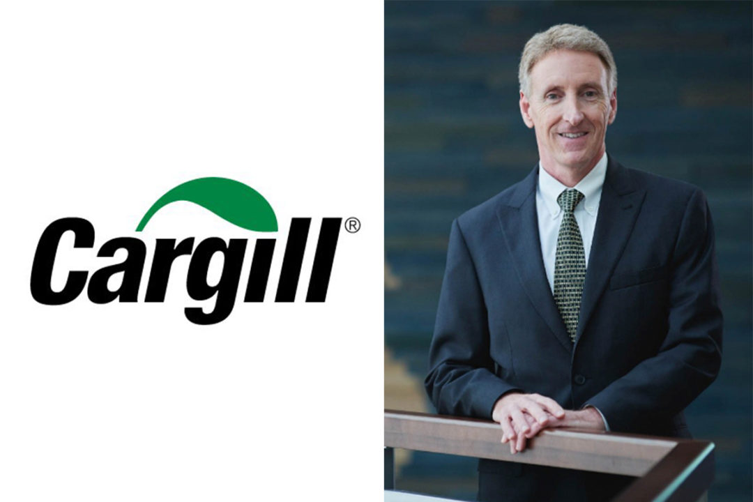 Joe Stone, new leader of Cargill's global Agricultural Supply Chain