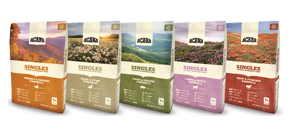 Champion Petfoods ACANA single-ingredient pet food line
