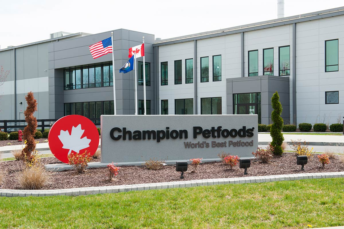 Champion Petfoods' Auburn, Kentucky kitchen