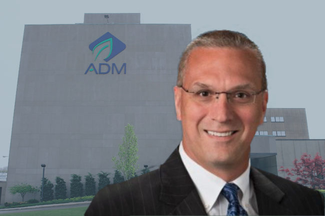 Christopher Boerm, ADM's current president of transportation and its new president of grain