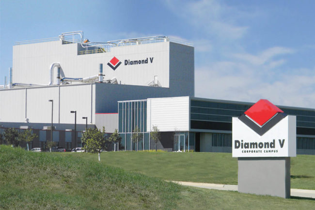 Diamond V headquarters in Cedar Rapids, Iowa