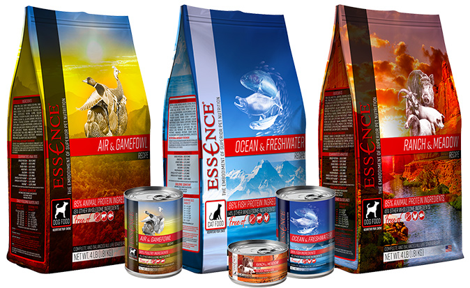 Pets Global's Essence brand products