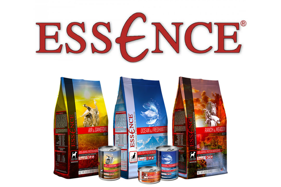 Essence dog and cat food products