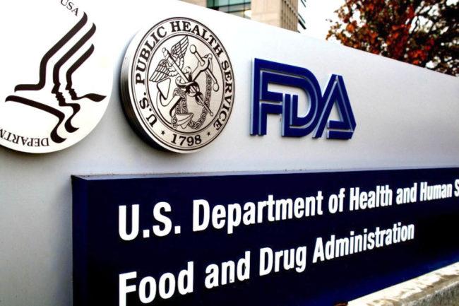 FDA building sign