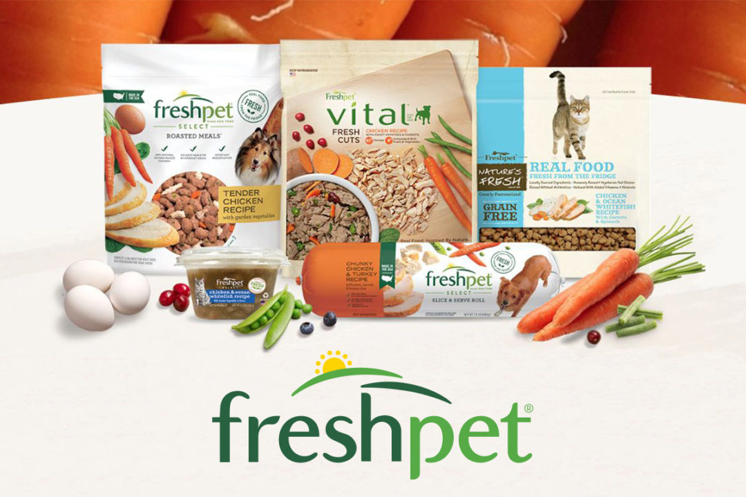 Freshpet pet food products