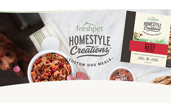 Freshpet Homestyle Creations, Custom Dog Meals