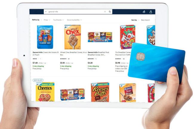 Shopping on iPad