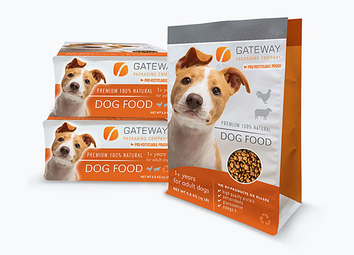 Gateway Dog Food Package