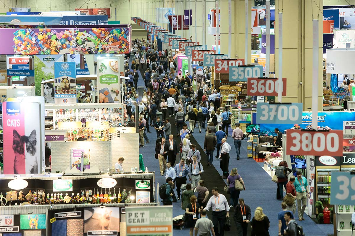 Global Pet Expo 2019 show floor