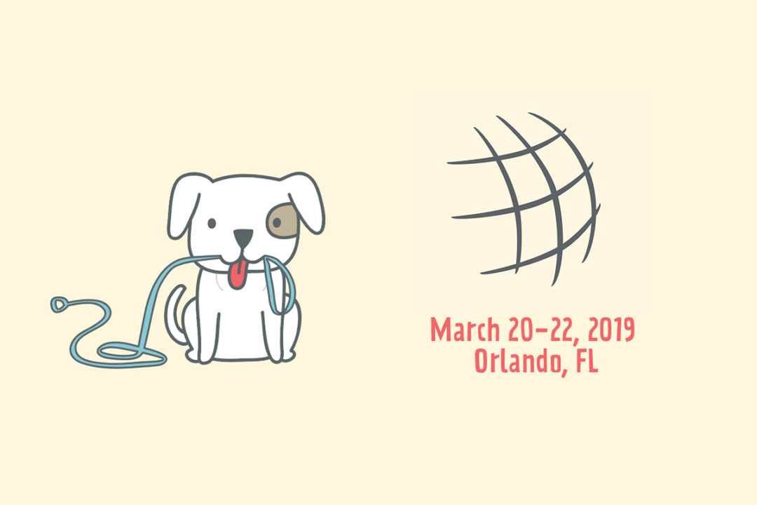 Global Pet Expo logo, graphic, dates and location (March 20-22, 2019 Orlando, FL)