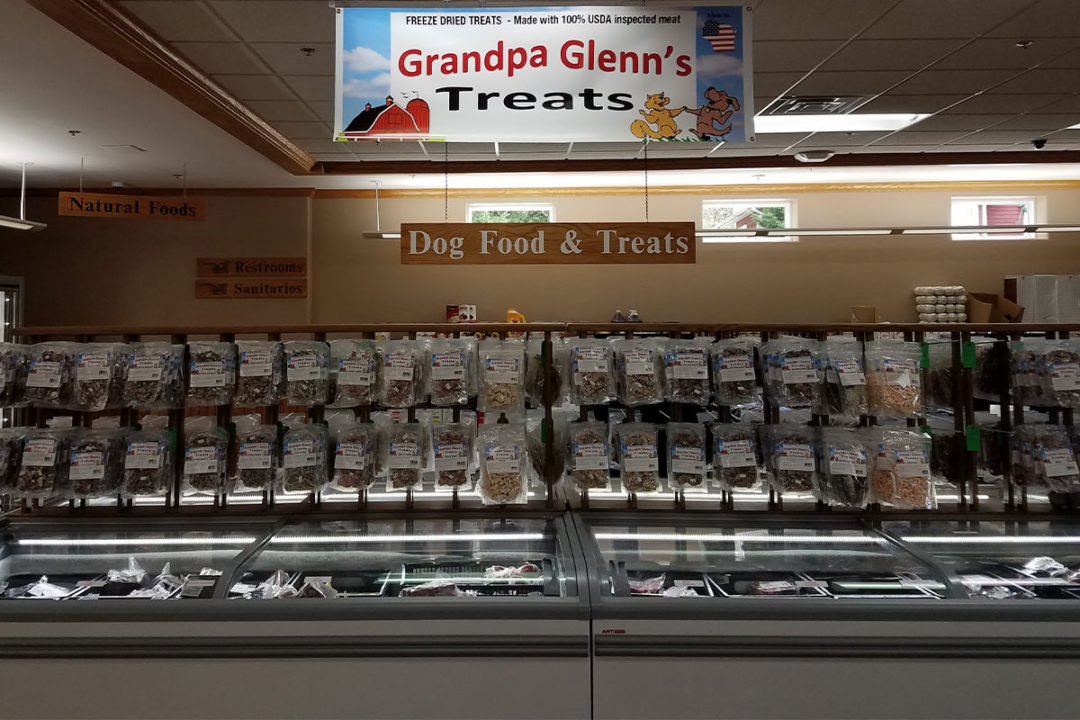 Grandpa Glenn's Dog Food & Treats products