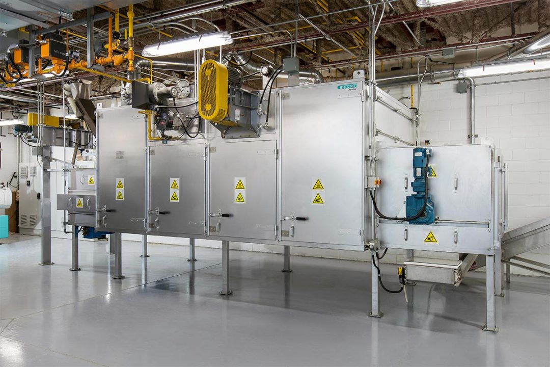Bühler Aeroglide pet food dryer system