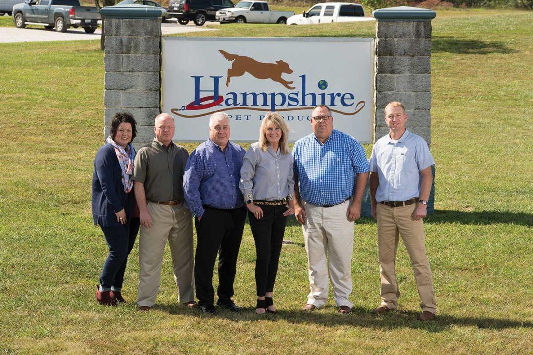 Hampshire Pet Products management team