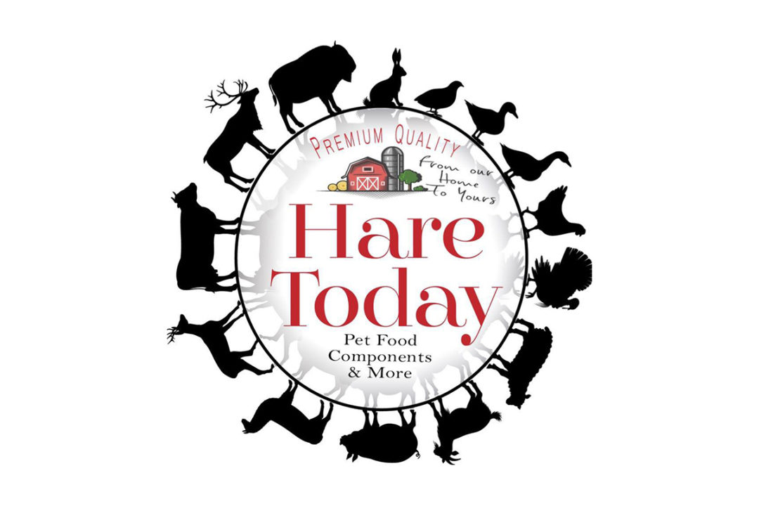 Hare Today Gone Tomorrow logo, raw pet food producer