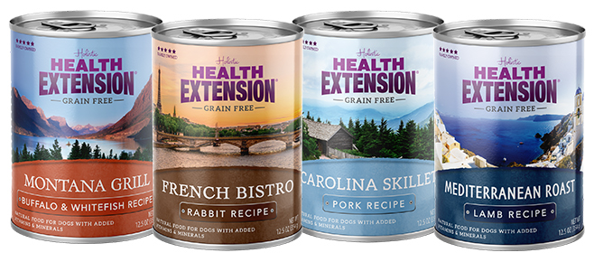 Health Extension regional canned dog food recipes