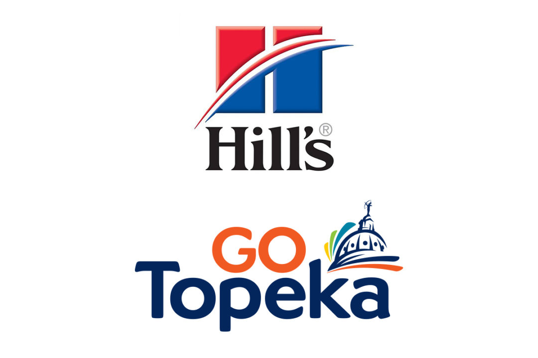 Hill's Pet Nutrition logo and GO Topeka logo