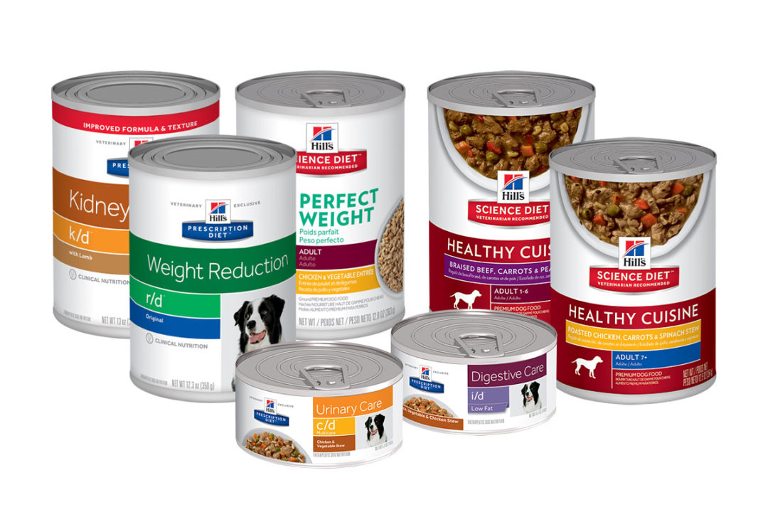 Canned dog food products included in Hill's Pet Nutrition recall expansion
