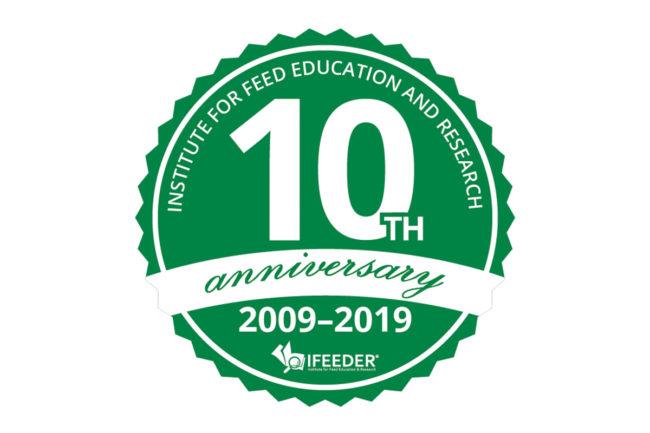 IFEEDER's 10th anniversary sticker