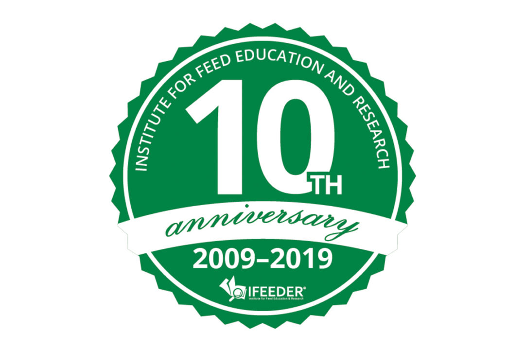 IFEEDER's 10th anniversary sticker