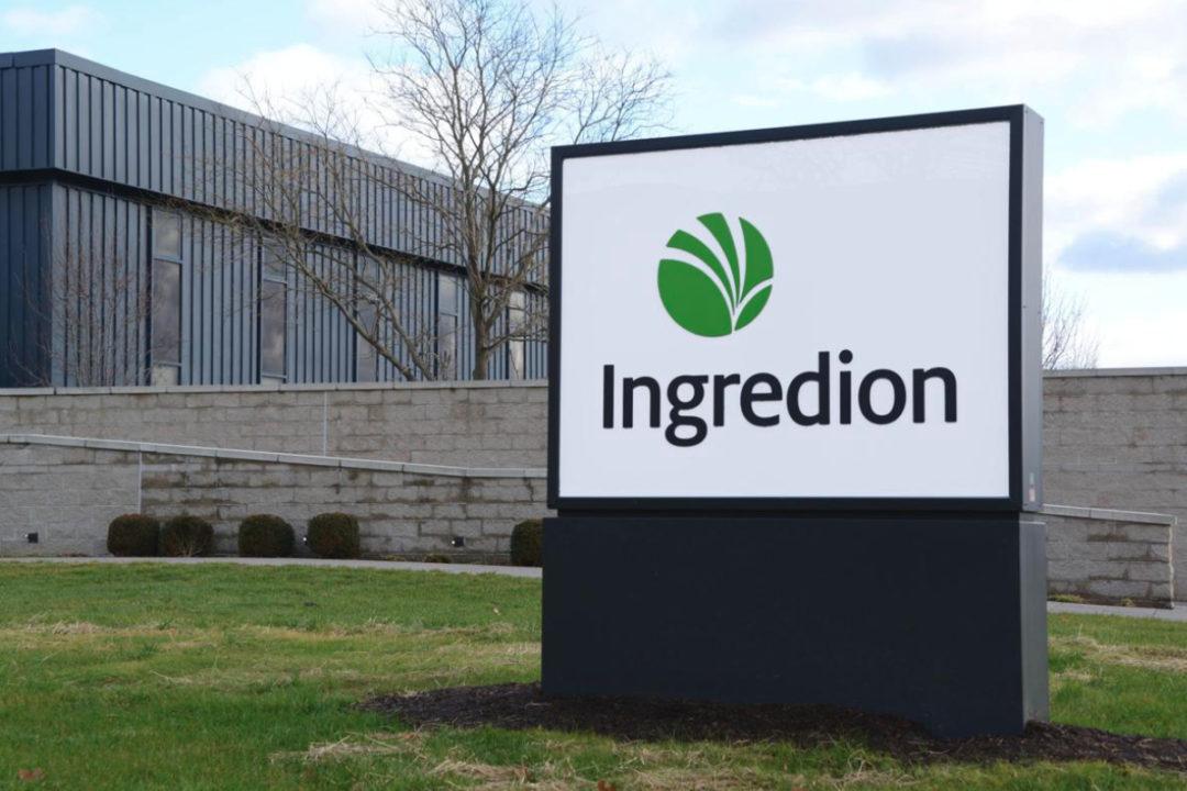 Ingredion sign