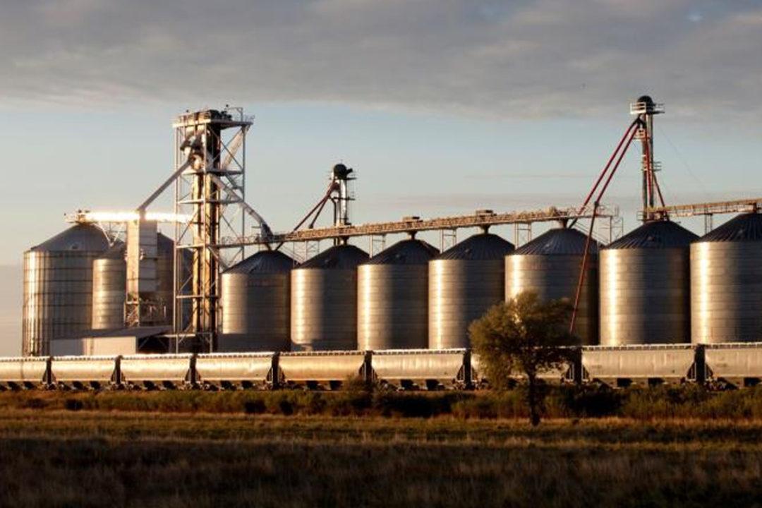 Grain mill exterior