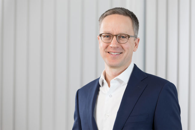 Mark Macus, new chief financial officer of Bühler