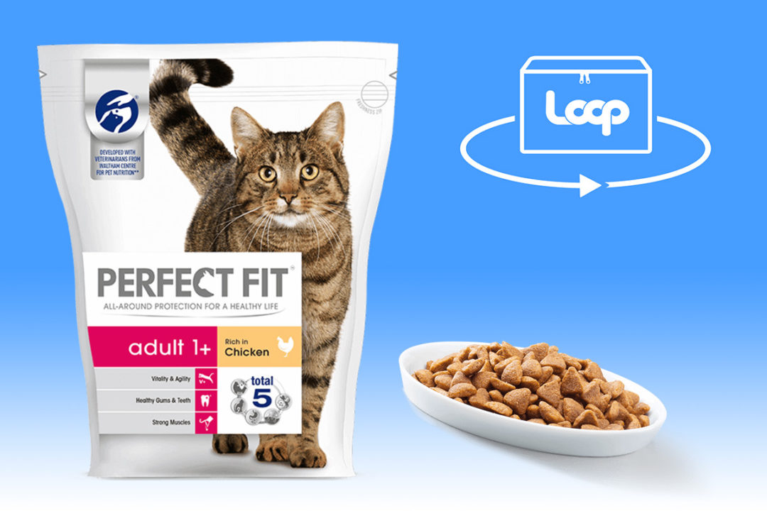 Mars Petcare Perfect Fit cat food and Loop logo