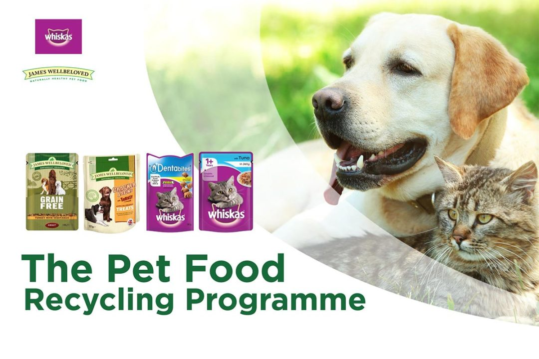 The Pet Food Programme, pet food packaging accepted for recycling by TerraCycle in the UK
