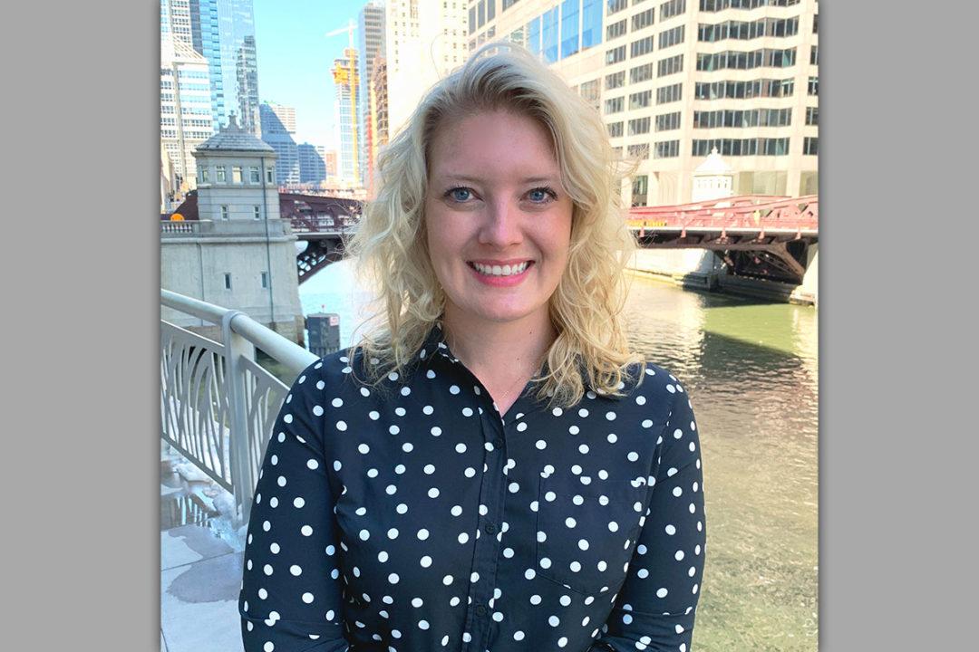 Kelly Zenere, new social media manager for Matrix Partners.