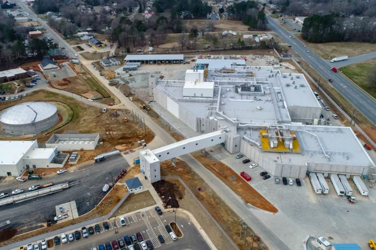 Mountaire Farms new North Carolina facility