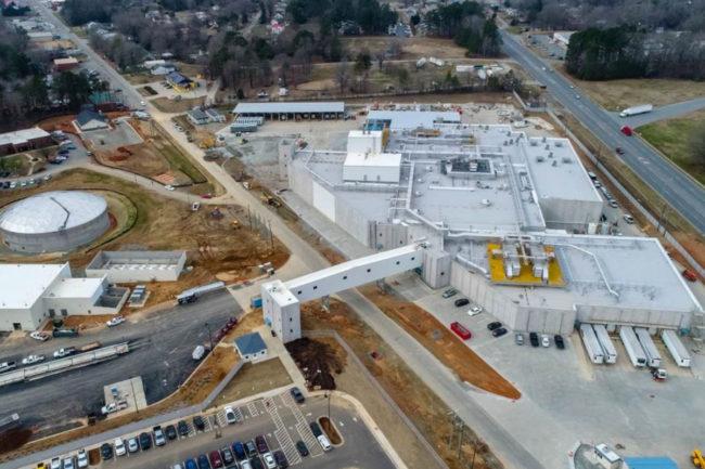 Mountaire Farms new North Carolina facility