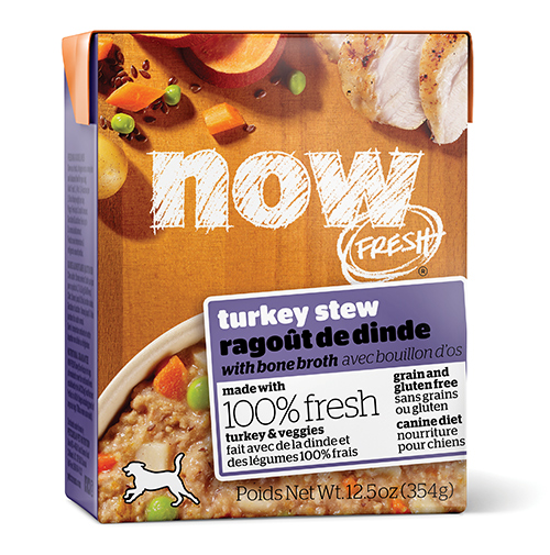 Petcurean NOW Turkey Stew dog food