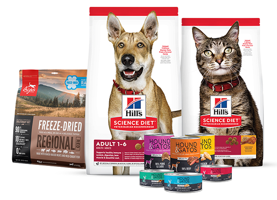 New packaging from Hill's Pet Nutrition, Champion Petfoods and Hound & Gatos