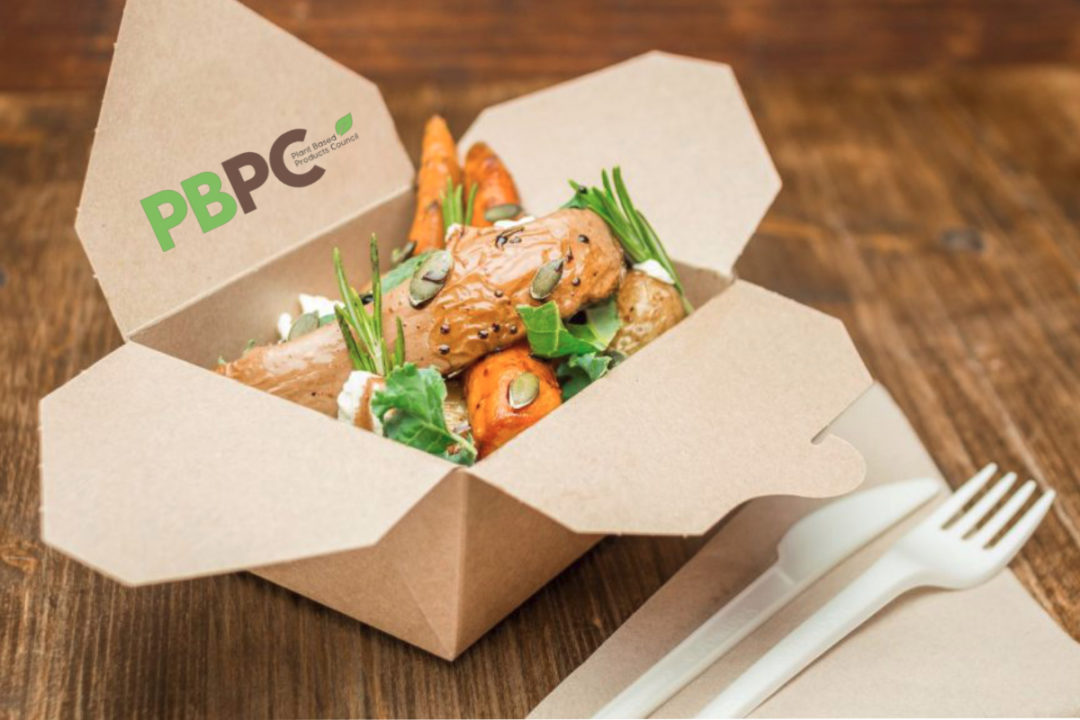 Plant Based Products Council salad packaging